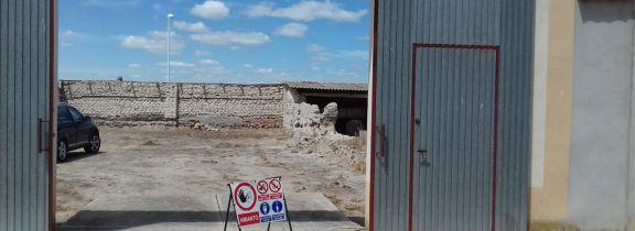 Retirada de uralita en Aldeamayor de San Martín (Valladolid)