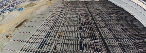 Retirada de cubierta de fibrocemento en nave en Pinto (Madrid)