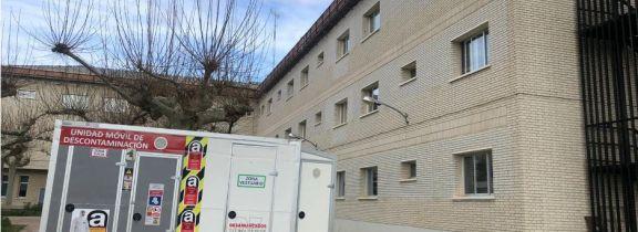 Retirada de fibrocemento en la residencia de mayores Comunidad de Madrid de Torrelaguna