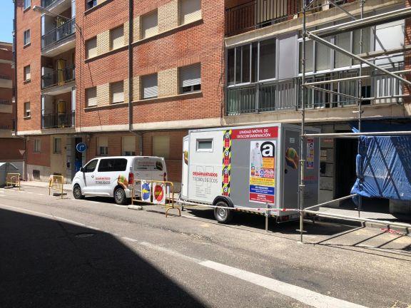 Trabajo de Desamiantados Tecnológicos en un edificio en Salamanca
