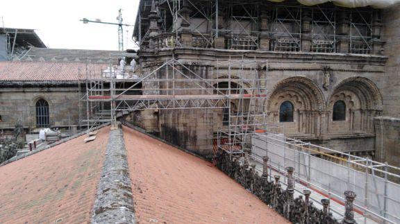 Desamiantados Tecnológicos trabaja en la Catedral de Santiago de Compostela