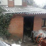 Desamiantado en Navacerrada (Madrid)