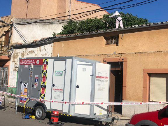 Retirada de cubierta de fibrocemento en Peñaranda de Bracamonte