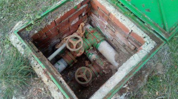 Desconexión de tuberías con amianto