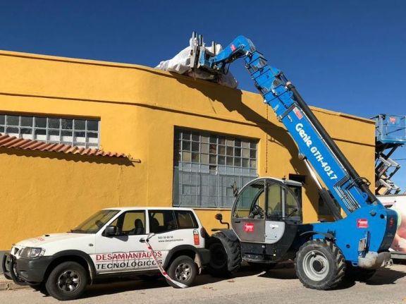 Desmontaje de fibrocemento en Peñaranda