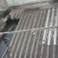 Retirada de amianto en edificio de viviendas en Salmanca