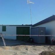 Retirada de amianto en Roelos de Sayago (Zamora)