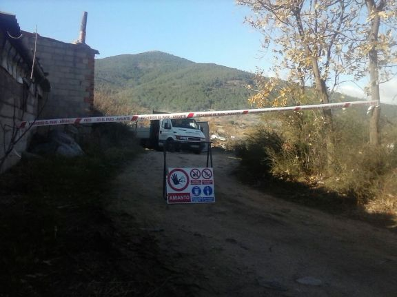 Retirada de Uralita en Ávila